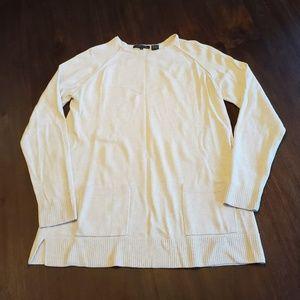 Jeanne Pierre cream sweater size M